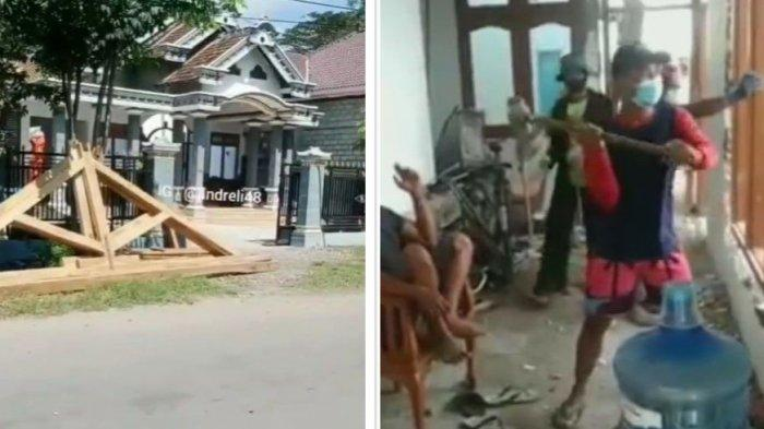 Suami di Ponorogo Bongkar Rumah Seusai Digugat Cerai Istri, Tetangga Gotong-royong Ikut Bantu