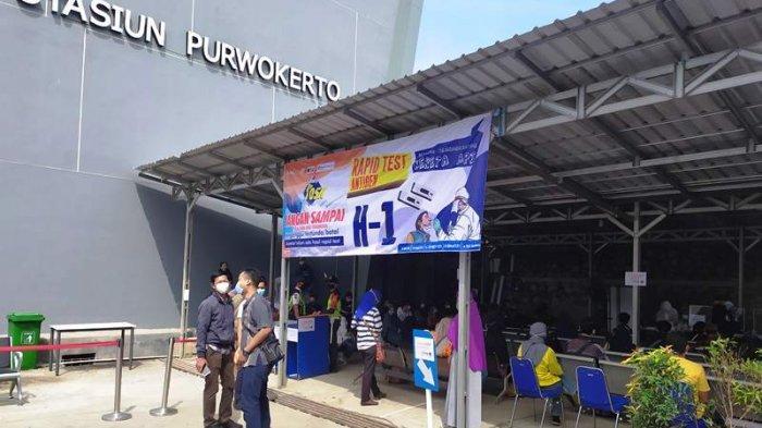 Dari 280 Calon Penumpang yang Lakukan Rapid Test Antigen di Stasiun Purwokerto, 25 Reaktif