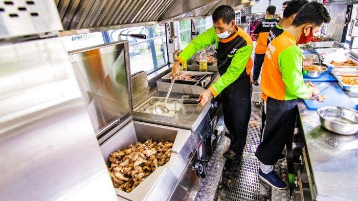ACT Ciptakan Humanity Food Bus, Bus Disulap Jadi dapur, Salurkan Bantuan Pangan ke Seluruh Indonesia