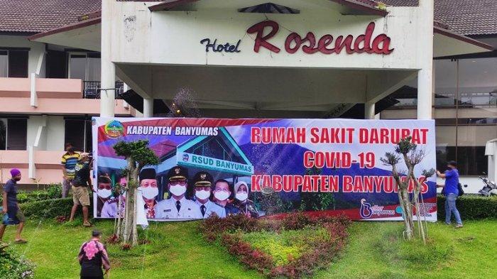 RS Darurat Covid-19 Banyumas di Hotel Rosenda Sudah Terisi 12 Pasien