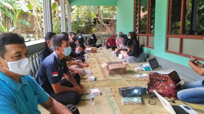 Buka Kesadaran Pemuda Bangun Desa, Mahasiswa KKN Undip Gelar Training bagi Karang Taruna