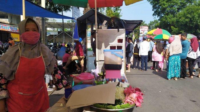 PPKM Turun ke Level 3, Prokes di Pasar Minggon GOR Satria Tetap Diperketat, Ini Penyebabnya