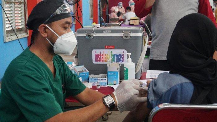 Vaksinasi Corona Kota Pekalongan Capai 45%