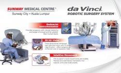 Sunway Medical Centre Berbekal Sistem Bedah Perbantuan Robotik