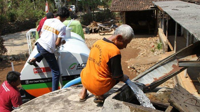 Atasi Kekeringan, Bantuan Jutaan Liter Air dan Ratusan Sumur Wakaf ACT di Berbagai Lokasi