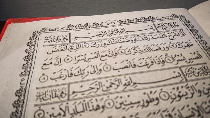 Surat Al Insyirah Lengkap Arab Latin dan Artinya