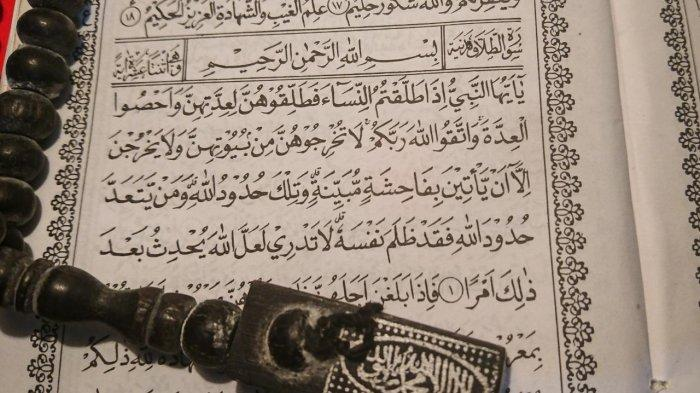 Surat At Talaq Lengkap Arab Latin dan Artinya