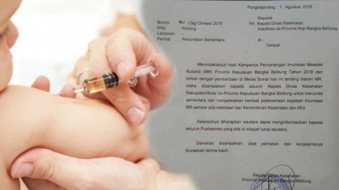 Viral! Surat Penundaan Vaksinasi Terkait Sertifikasi Halal, MUI: Jangan Bully Pemerintah