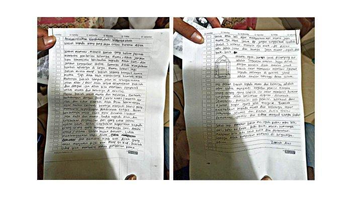 Ada Kesamaan Isi Surat Wasiat Zakiah Aini Penyerang Mabes Polri dengan Pelaku Bom Makassar