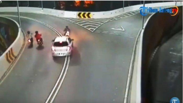 Lenyapnya Kemanusiaan, Korban Tabrak Lari Dibiarkan Tergeletak di Overpass Manahan Solo