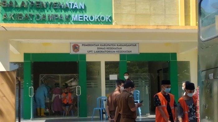 25 Tahanan Kejaksaan Negeri Karanganyar Jalani Swab Virus Corona, Ada Apa?