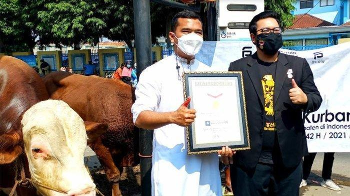Pria Ini Cetak Rekor MURI Kurban 1.100 Ekor, Kalahkan Raffi Ahmad
