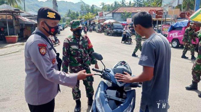 Meski Angka Covid Menurun, Polres Kebumen Masih Gencar Operasi Pengendara tak Bermasker