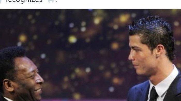 Pesan Pele untuk Ronaldo Seusai Mudik ke Manchester United