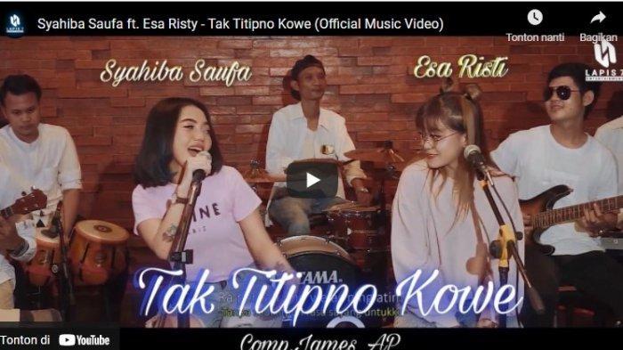 Chord Kunci Gitar Tak Titipno Kowe Syahiba Saufa Ft Esa Risty