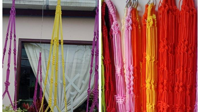 Tali pot gantung dari talikur