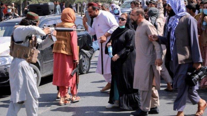4 Orang Tewas saat Aksi Demonstrasi di Afghanistan, Taliban Dikecam karena Gunakan Senjata