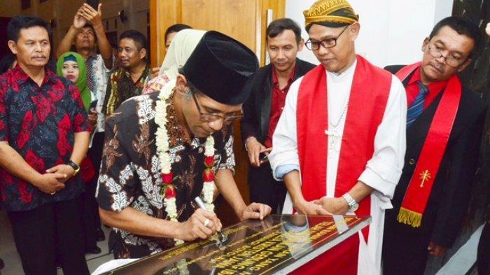 Wakil Bupati Boyolali Resmikan Gedung Baru Gereja Kristen Jawa Juwangi