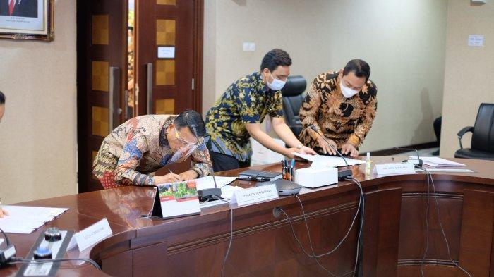 Tanda tangani MoU, Hendi Tegaskan Komitmen Semarang Siap jadi Tuan Rumah Festival HAM