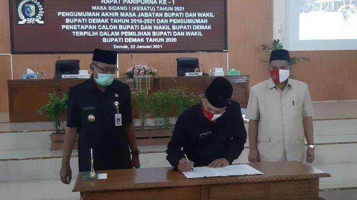 DPRD Gelar Rapat Paripurna, Usulkan Eisti Alim ke Mendagri untuk Dilantik