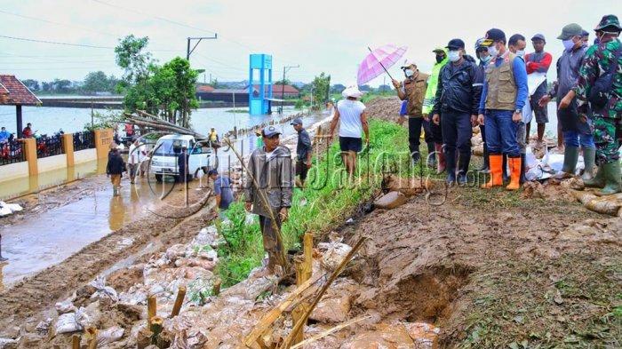 Hartopo Upayakan Pemulihan Ratusan Lubang Tanggul Sungai Piji Kudus