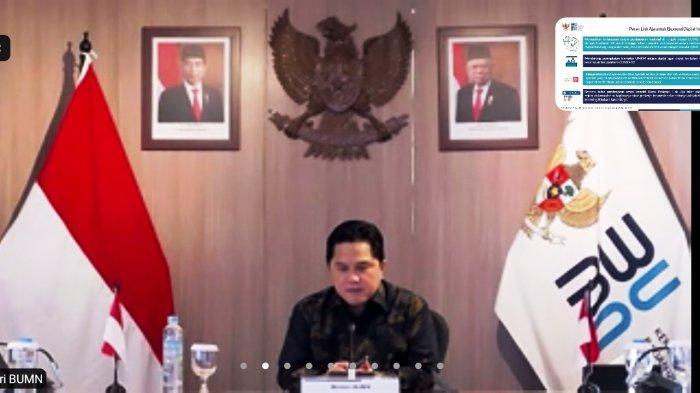 Pacu BUMN Melantai di Bursa, Erick Thohir Ingin Pasar Modal Indonesia Jadi Raja di Asia Tenggara
