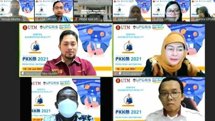 Maksimalkan Pembelajaran Daring, Mahasiswa Diperkenalkan Fitur Augmented Reality