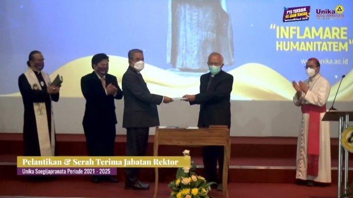 Inilah Sosok Dr Ferdinandus Hindiarto Rektor Baru Unika Soegijapranata Semarang