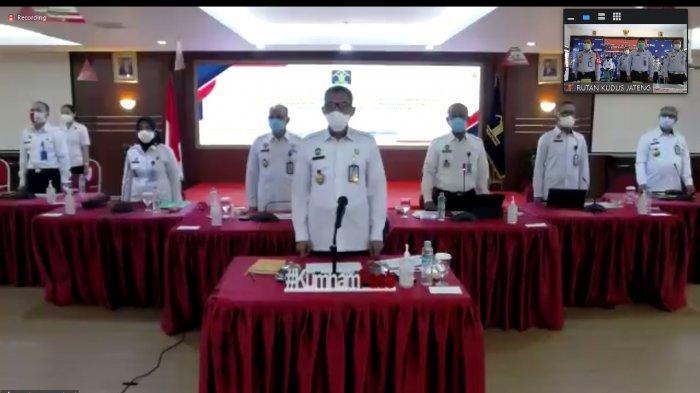 Rutan Kelas IIB Kudus Siap Hadapi Tim Penilai Wilayah Bebas Korupsi (WBK)