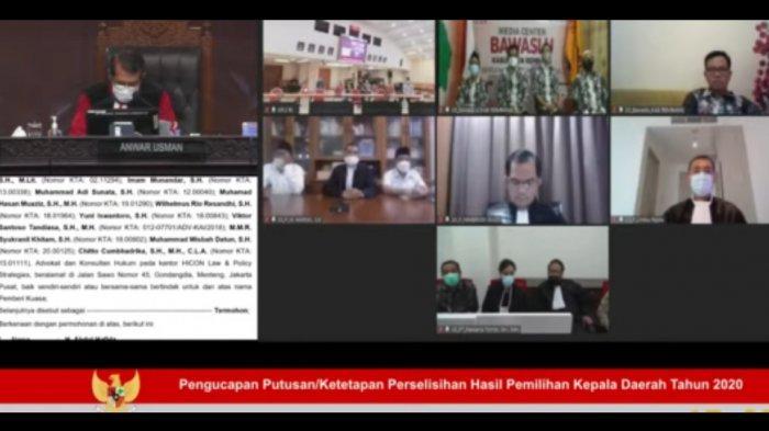 Sengketa Hasil Pilkada Rembang Ditolak Mahkamah Konstitusi, Ini Alasannya