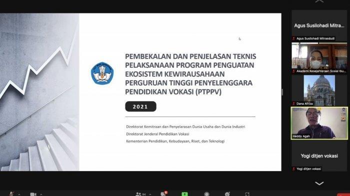 Membangun Ekosistem Kewirausahaan, AKS Ibu Kartini Semarang Lolos Program Kemendikbudristek