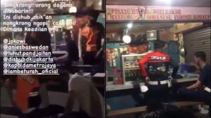 8 Petugas Dishub Dipecat Karena Nongkrong di Warkop, Dilaporkan Pedagang yang Disemprot Disinfektan