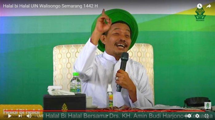 Tarian Sufi Warnai Halalbihalal UIN Walisongo Semarang
