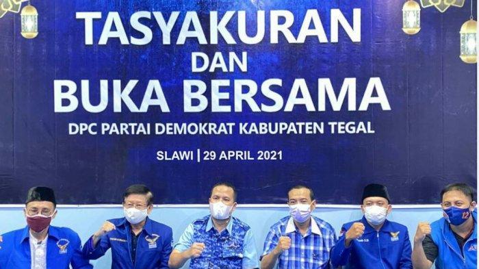 Tasyakuran Kantor Baru DPC Demokrat Kabupaten Tegal, Ivan Agusta: Operasional Mulai Hari Ini