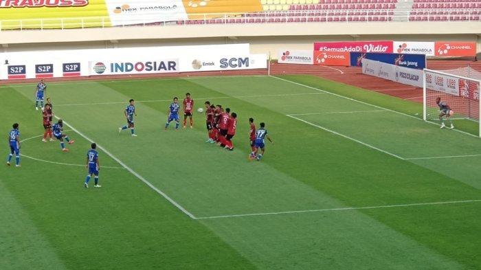 PSCS Cilacap Unggul Sementara Atas PSG Pati, 2 Gol Lewat Tendangan Bebas dan Sundulan