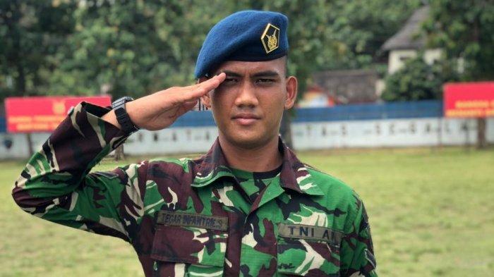Gelandang PSIS Semarang, Tegar Infantrie Kini Jadi Prajurit TNI, Korbankan Dua Kali Panggilan Timnas