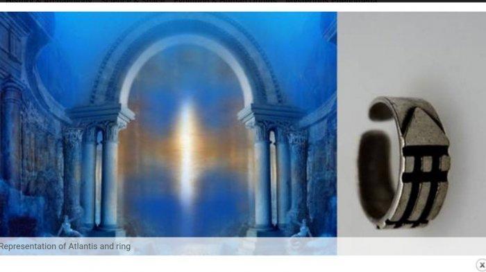 Teka-teki Atlantis, Mitos Kuno dan Penemuan Cincin oleh Peneliti Prancis