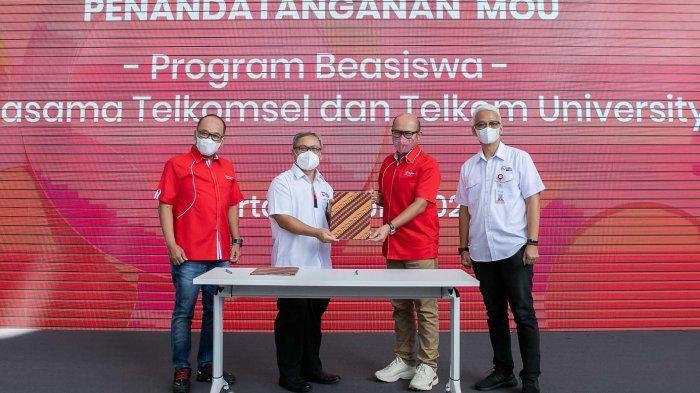 Telkomsel dan Telkom University Hadirkan Program Beasiswa untuk Dorong Talenta Digital Indonesia