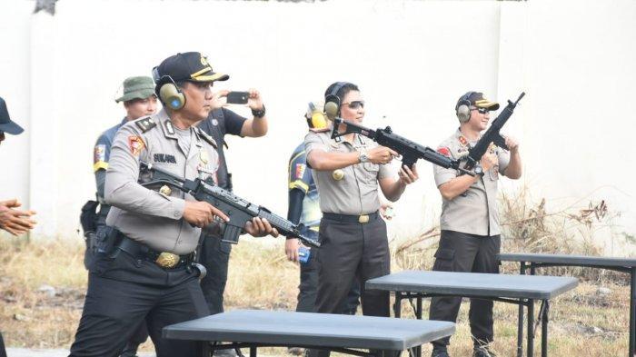 Polresta Solo Gelar Kejuaraan Tembak Peringati HUT ke-73 Bhayangkara