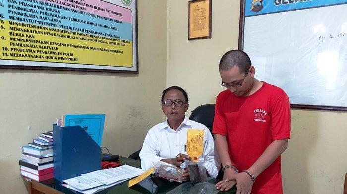 Karyawan Hotel di Tegal Ditangkap, Seusai Terima Paket Tembakau Gorila di Rumahnya