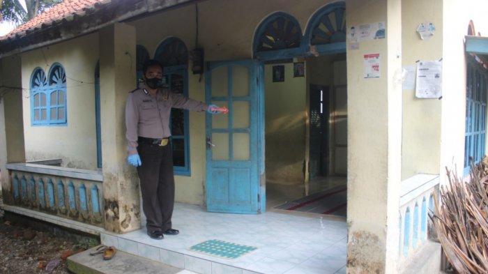 tempat kejadian perkara dugaan bunuh diri di Desa Kedungwinangun, Kebumen, (25/1/2021)