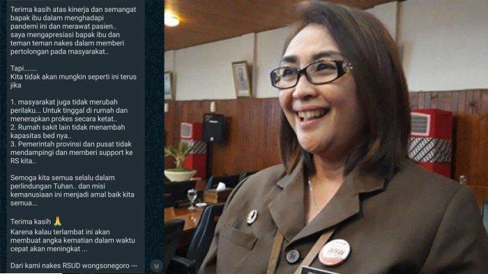 Beredar Pesan Nakes RSUD Wongsonegoro Semarang Soal Pandemi, Direktur: Tidak Seperti Itu