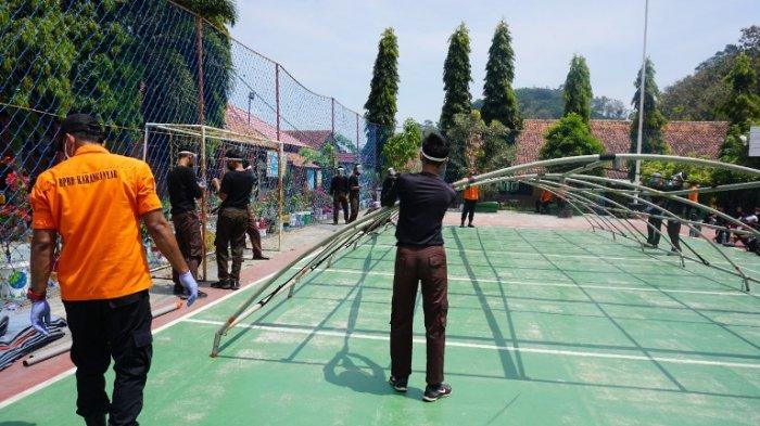 Sekolah Berlokasi di Area Rawan Longsor, Siswa Baru di SMKN Jenawi Karanganyar Belajar Siaga Bencana