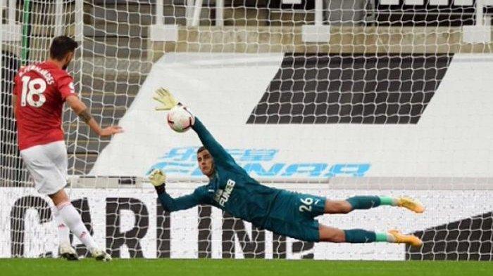 Hasil Liga Inggris Tadi Malam, Newcastle vs Manchester United:Fernandes SuksesBawa Kemenangan