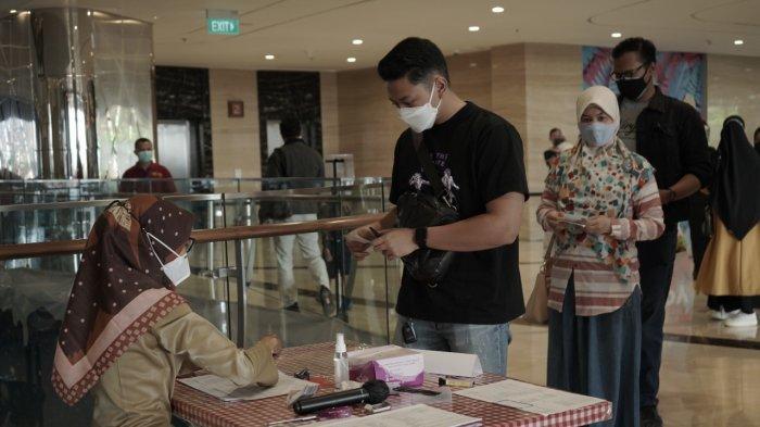Tentrem Mall Semarang Menjadi Sentra Vaksinasi Dinas Kesehatan Kota Semarang