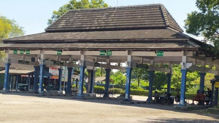 H-1 Lebaran Terminal Pilangsari Sragen Terpantau Sepi