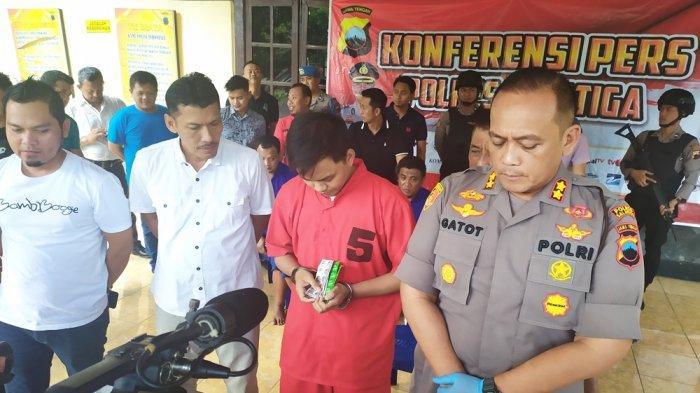 Pria Asal Semarang Ini Ditangkap Polisi, Kapolres Salatiga: Dia Jual Obat Penenang Secara Ilegal