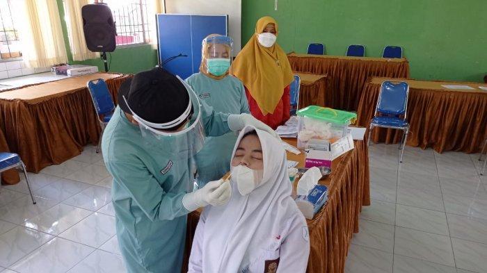 Hasil Tes Antigen 20 Siswa dan Guru SMAN 1 Sigaluh Banjarnegara