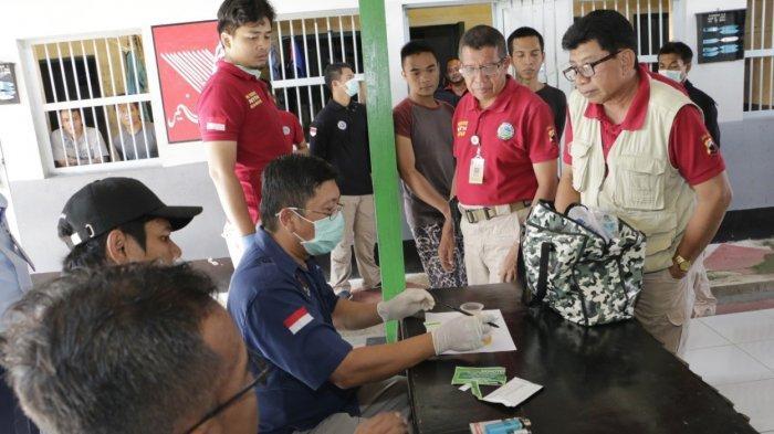 Ditresnarkoba Polda Jateng Razia Rutan Rowobelang Batang, 93 Napi Dites Urine, Ini Hasilnya
