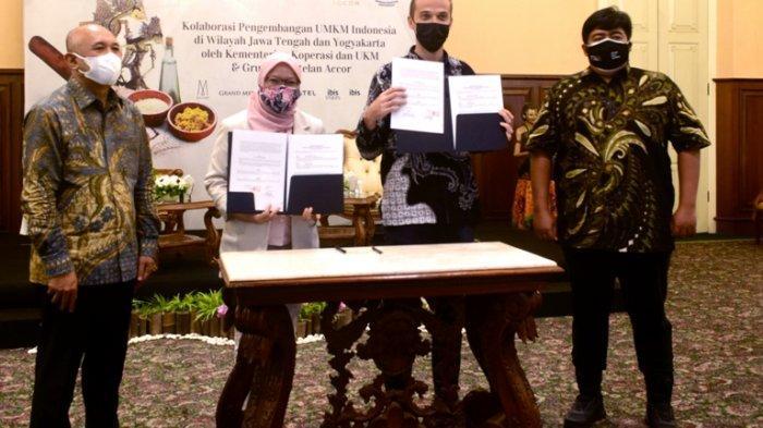 Kemenkop-UKM dan Grup Accor Kolaborasi Serap Produk UMKM di Jateng-DIY